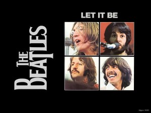 beatles let it be youtube music video