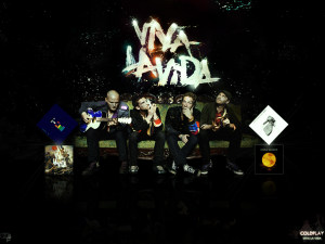 coldplay viva la vida youtube video